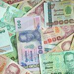 monedas y billetes tailandia
