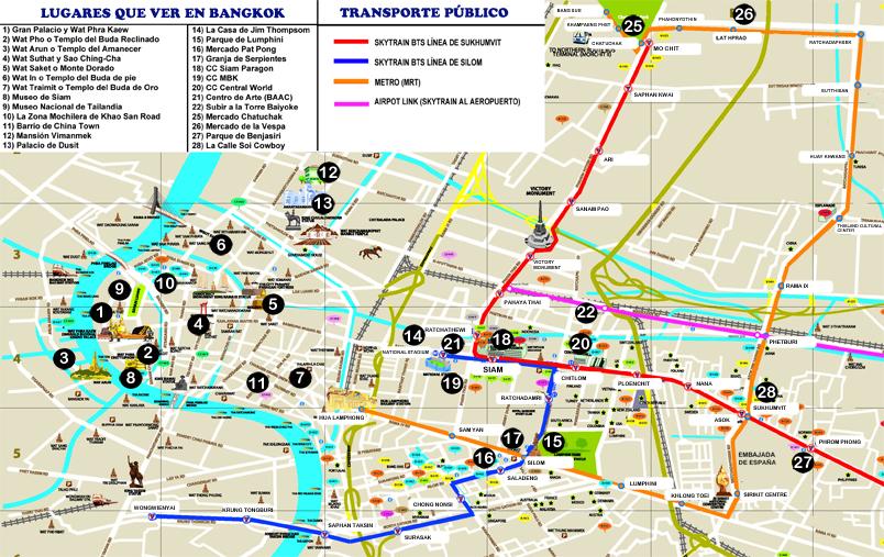 BANGKOK MAPA