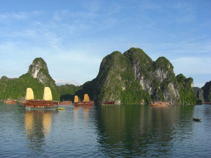 Mochileros en Vietnam