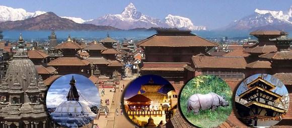 Mochileros en Nepal