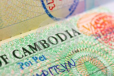Visa Camboya