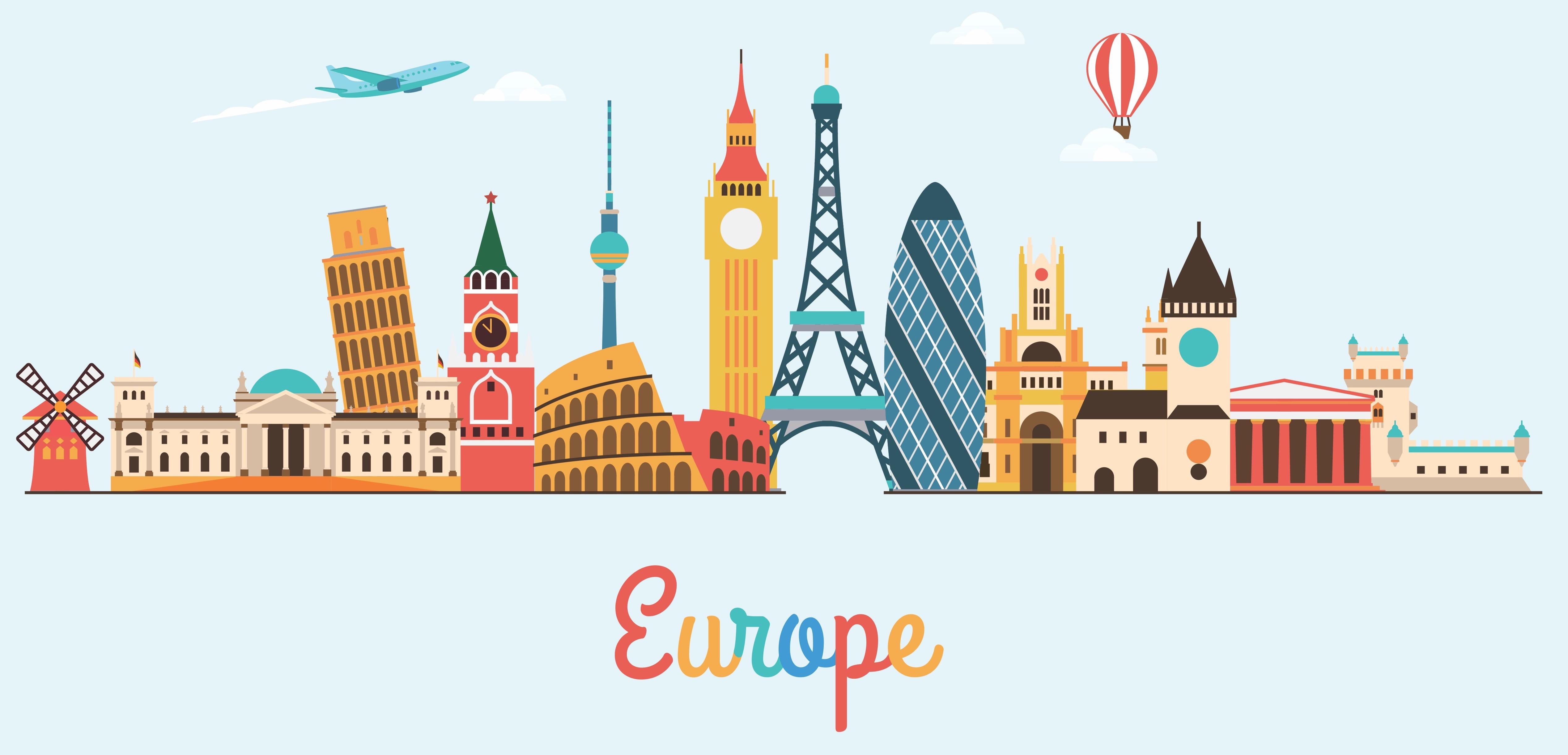 MOCHILERO EN EUROPA