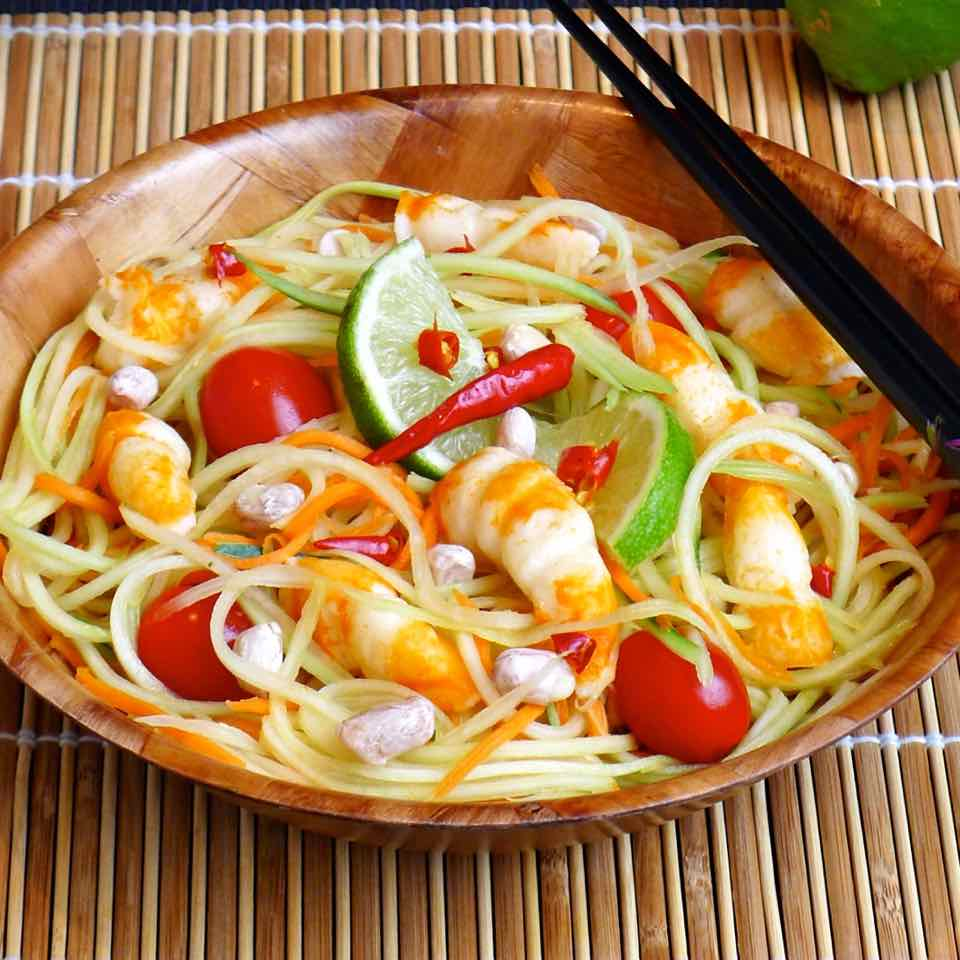 Som Tam O PAPAYA SALAD