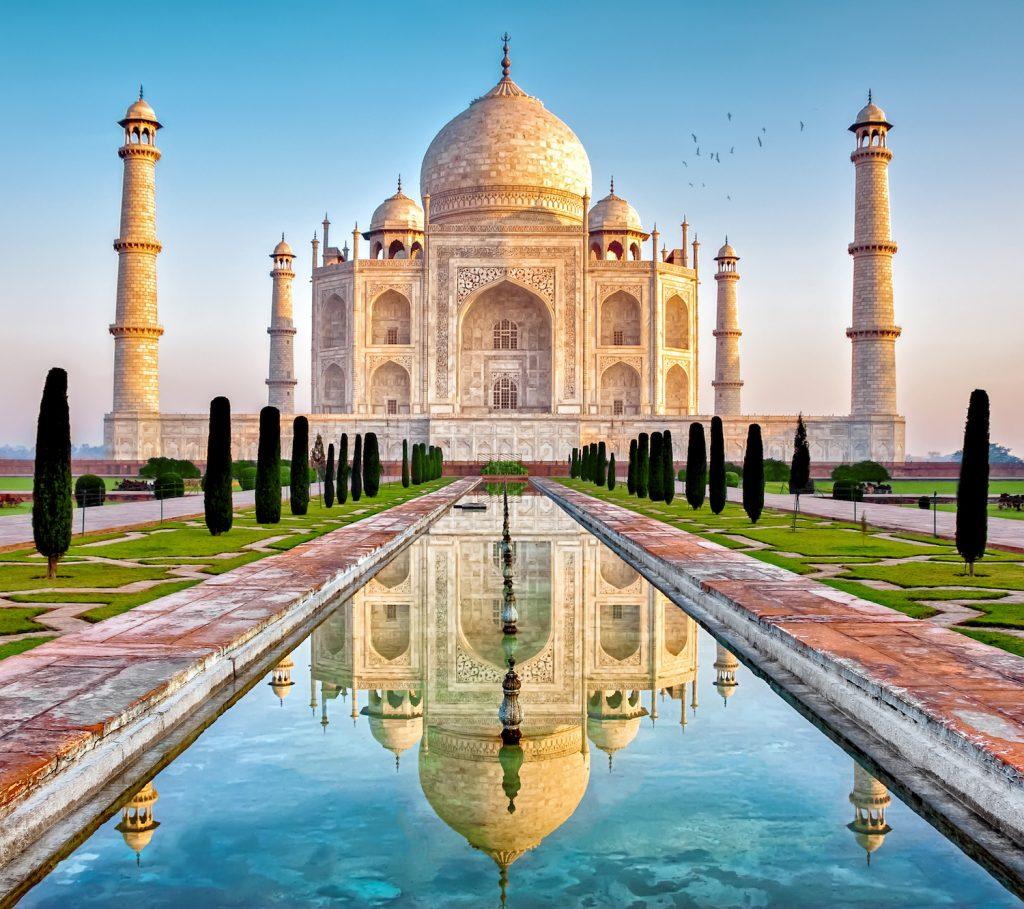 TAJ MAHAL EN AGRA - INDIA