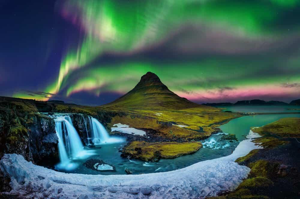AURORA BOREAL ISLANDIA
